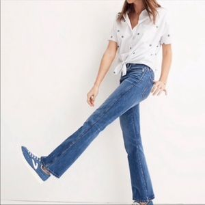 Madewell | High Rise Rigid Flare Jeans